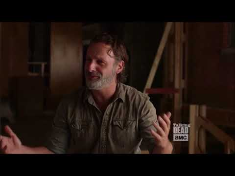 Talking Dead  Andrew Lincoln on Rick's mental state
