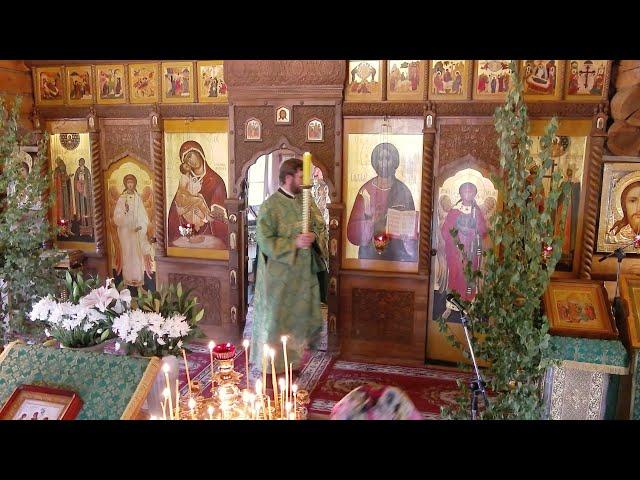 Пятидесятница. День Святой Троицы. Всенощное бдение