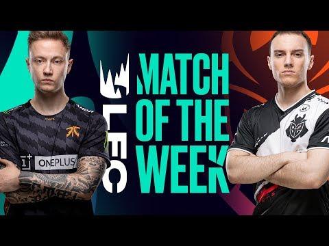#LEC Match of the Week | G2 vs FNC  | Friday, June 21st