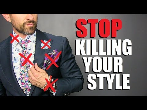 10 UNSTYLISH Items Men Need To STOP Wearing!