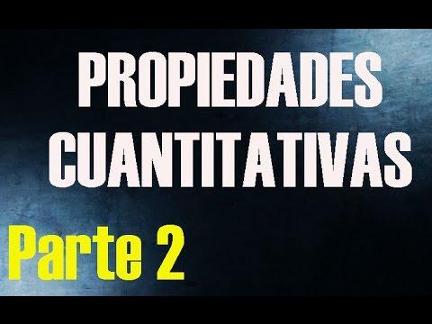 Propiedades cuantitativas de la materia parte 2 la - Acm inmobiliaria ...