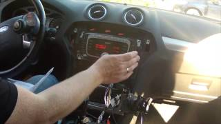 Ford AUTODAB Installation in a -09 Ford Mondeo MK4 (with one arm)