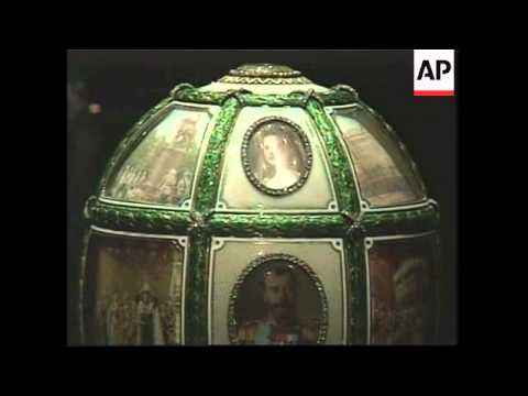 Auction of Faberge Eggs announced