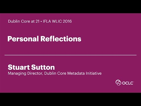 Dublin Core at 21: Personal Reflections