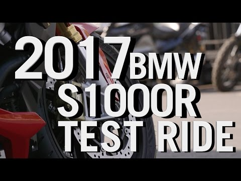 NEW 2017 BMW S1000R TEST RIDE & REVIEW -  BMW Motorcycle Reviews