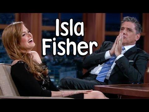 Isla Fisher With Craig Ferguson!  Show