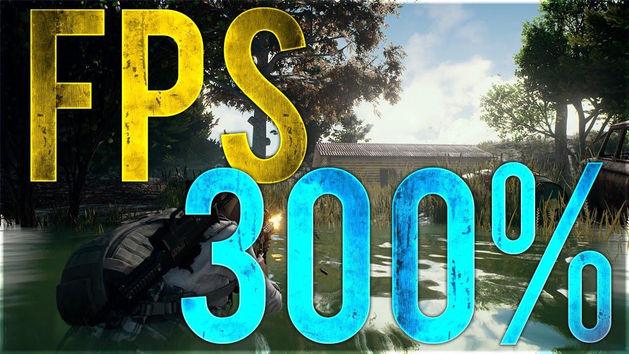 HOW TO INCREASE FPS BY 300 PERCENT IN PUBG!!