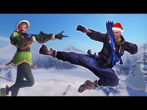 The Christmas Hanzo! [Overwatch]
