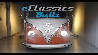 Volkswagen e-Bulli converted electric microbus