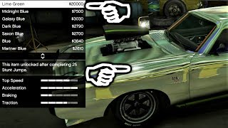 How To Do The Matte Pearlescent Paint Trick w/ Metals & Chrome Too! - Lets Play GTA5 Online HD E311
