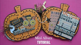 Halloween Mini Album Tutorial - Little Hot Tamale