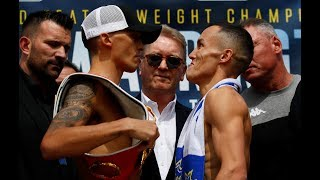 HOSTILE TERRITORY ⚠️ Selby and Warrington face off for the final time before fight night 🔥