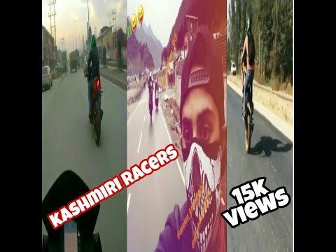 Kashmiri | Racing | Rebelz | bike | stunts|by baba technical kashmir btk