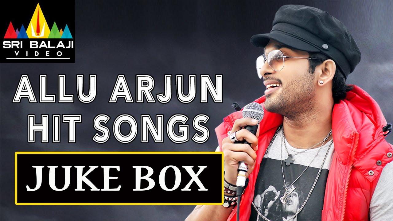 Allu Arjun Super Hit Songs - YouTube