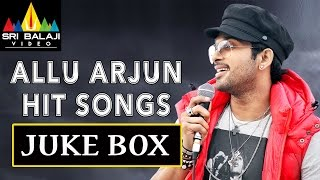 Allu Arjun Hit Songs Jukebox | Video Songs Back to Back | Sri Balaji Video
