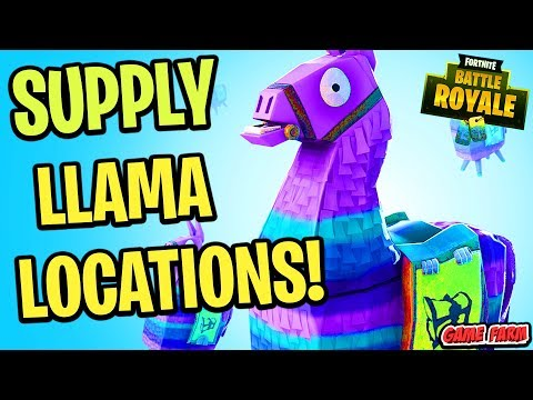 HOW TO FIND SUPPLY LLAMAS IN SEASON 6 OF FORTNITE!