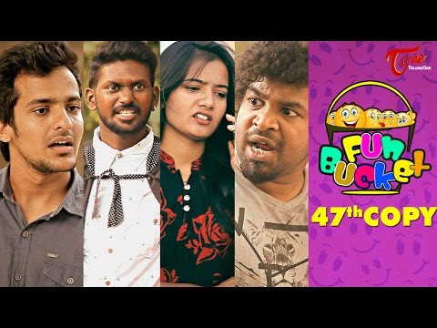 Fun Bucket | 47th Copy | Funny Videos | by Harsha Annavarapu | #TeluguComedyWebSeries