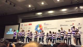 International congress in india aiesec international 2015 roll call
