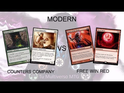 Modern – Counters Company Vs Free Win Red