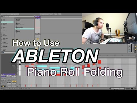 How to Use Ableton: Piano Roll Folding