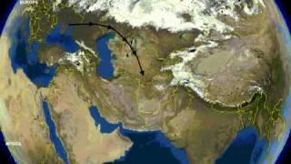 Ancient Jat migration to India !