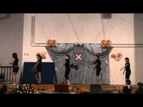 Táncos torna bemutató - Tömörkény István Általános Iskola, Tömörkény