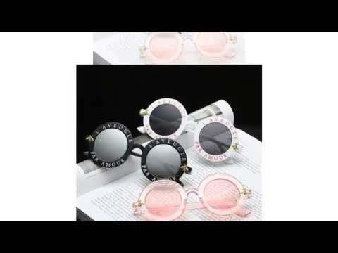 a5633c19076fe Men Women Little Bee Retro Round Sun glasses