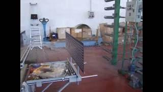 Orditoio sezionale Giovannelli, anno 2001 / Sectional warping machine Giovannelli, yoc 2001