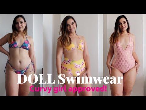 HUGE BIKINI TRY ON HAUL! | DOLL Swimwear Review 2018