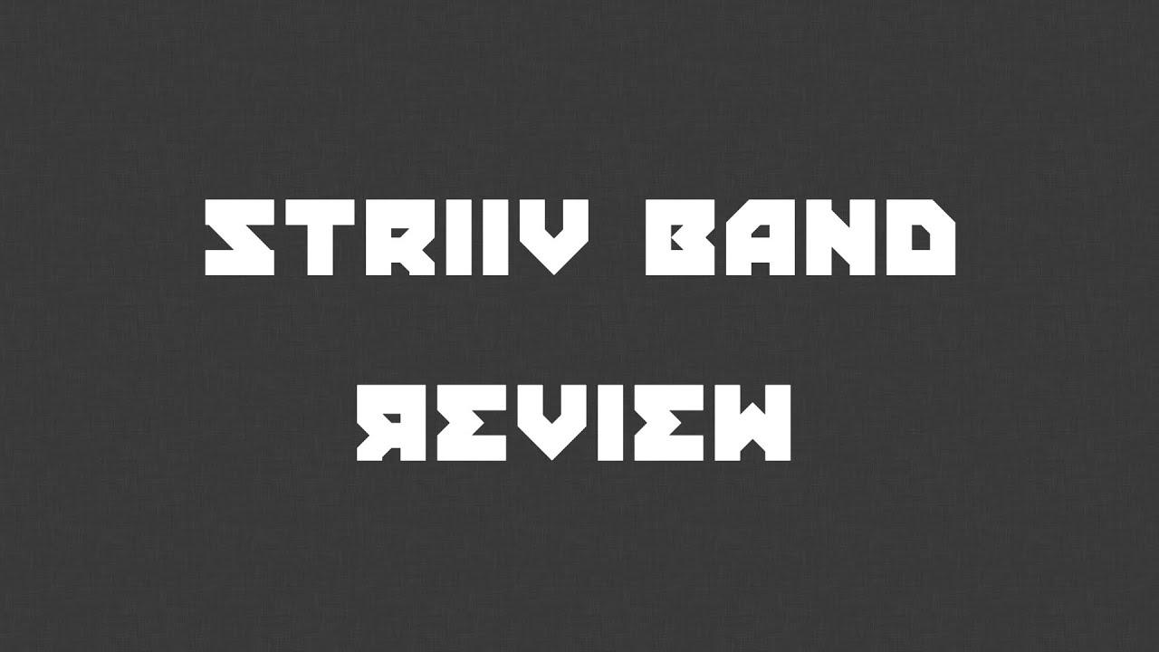 striiv band best budget activity tracker youtube