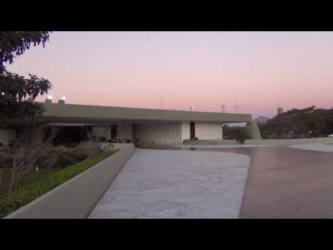 Anoitecer no Palácio Jaburu #Brasília #TimeLapse #Palace