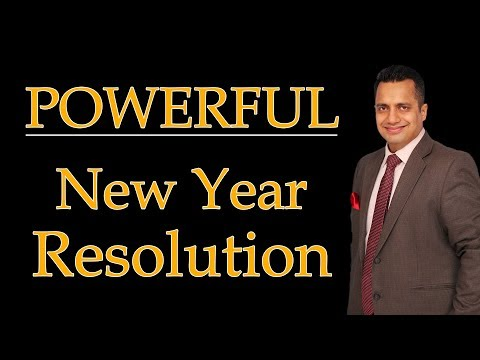 How to Make Powerful New Year Resolution | Motivational Video in Hindi by Dr Vivek Bindra