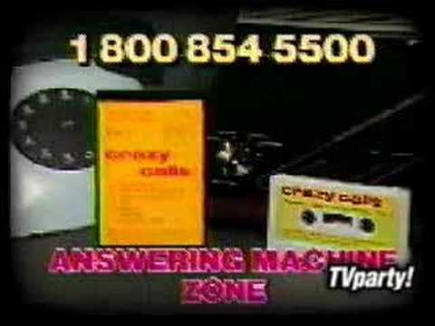 Crazy calls answering machine tape tv ad youtube crazy calls answering machine tape tv ad m4hsunfo