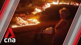 Several dead, homes destroyed as bushfires rage across eastern Australia