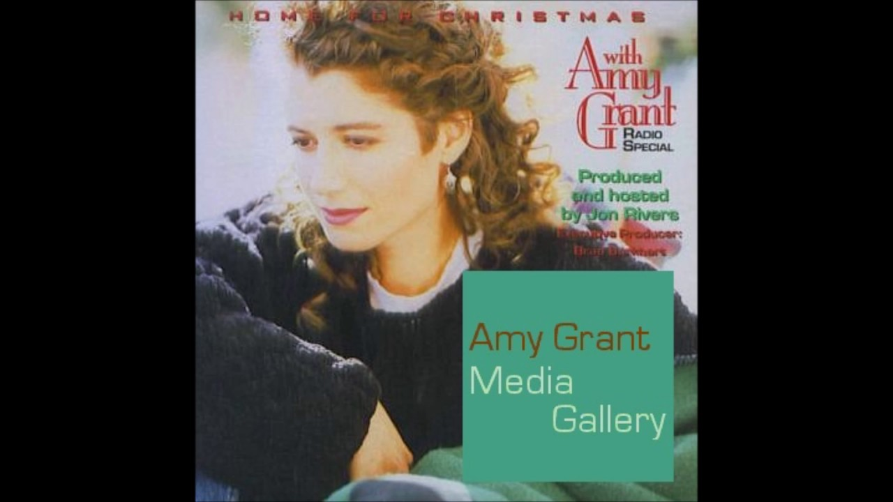 amy grant home for christmas radio special with jon rivers 1992 - Amy Grant Home For Christmas