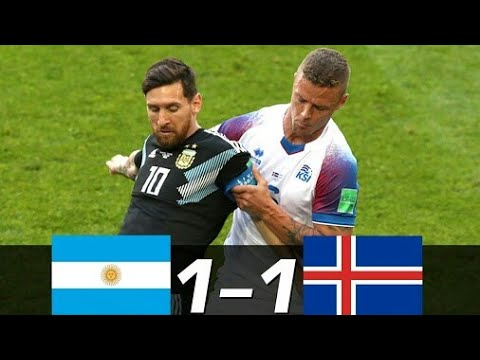 Argentina vs Iceland 1-1 World cup 2018 Highlights 16-06-2018 HD