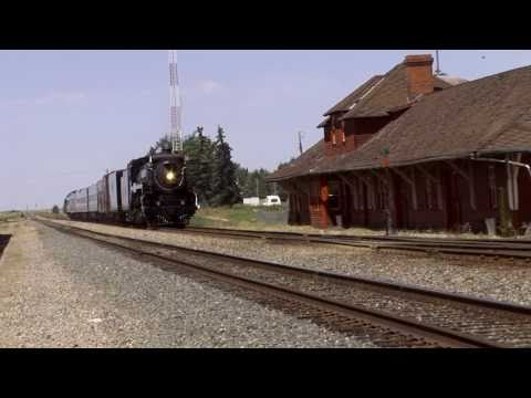 CP 2816 Calgary to Medicine Hat - Part 2 (Bassano Service Stop)