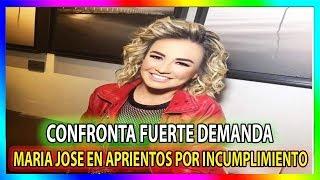 Maria Jose Podria afrontar demanda por incumplimiento de contrato con Tv Azteca 1