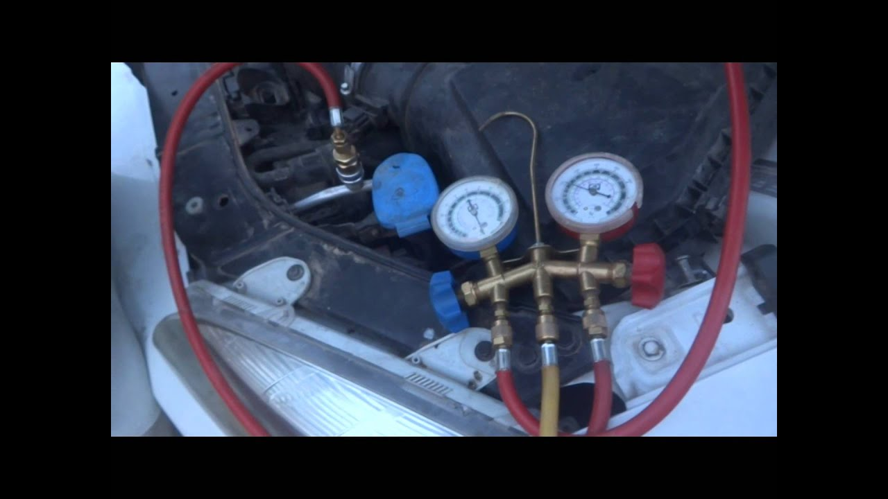 car air conditioner repair air conditioner refilling and recharging  [ 1280 x 720 Pixel ]