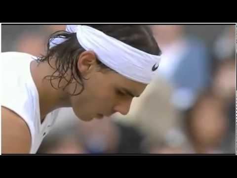 Federer Passing Shot Match Point vs. Nadal Wimbledon 2008