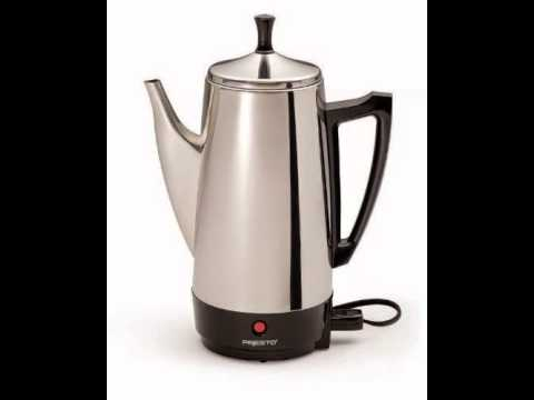 presto 02811 12-cup stainless steel coffee maker -