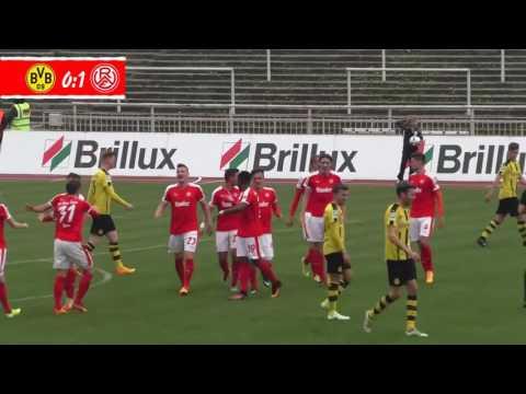 Borussia Dortmund U23 - RWE (Regionalliga West 2016/17: 28. Spieltag)