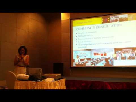A short lecture by Ms. Tuyet Hanh on dioxin risk assessment in Vietnam.