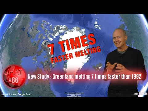 NEW STUDY : Greenland is melting seven times faster than 30 years ago.