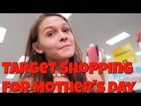 Target Shop with Me for Mother's Day! Top Dog Cheer Banquet!