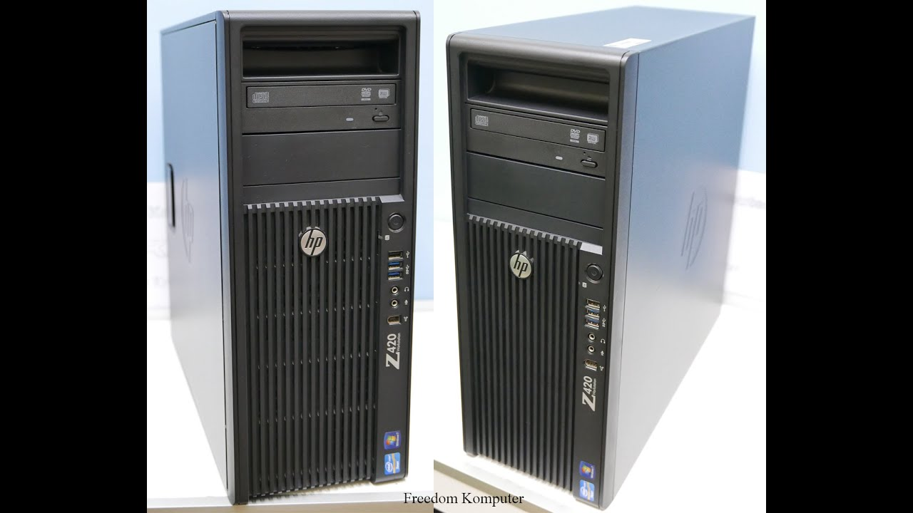 HP Workstation Z420, What inside & outside