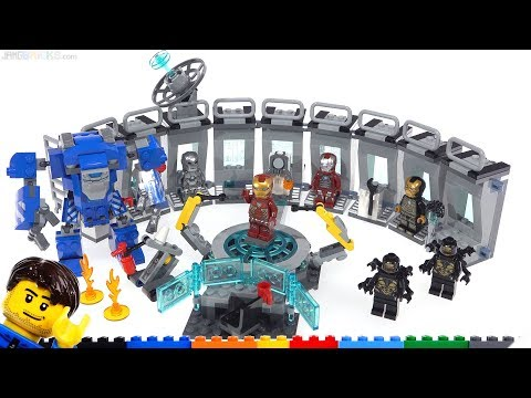 LEGO Marvel Avengers Iron Man Hall of Armor review 76125