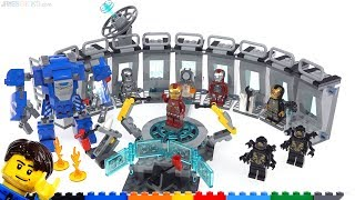 Baixar LEGO Marvel Avengers Iron Man Hall of Armor review! 76125
