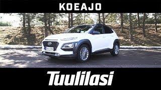 Koeajo: Hyundai Kona 1.6 T-Gdi 4wd First Style Launch Edition - Tuulilasi