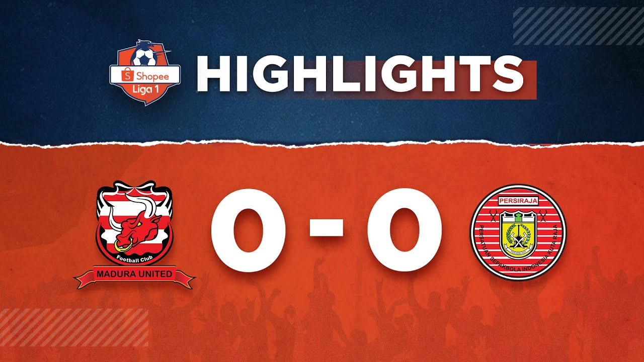 Madura United 0-0 Persiraja Banda Aceh | HIGHLIGHTS Shopee Liga 1 (9/3)